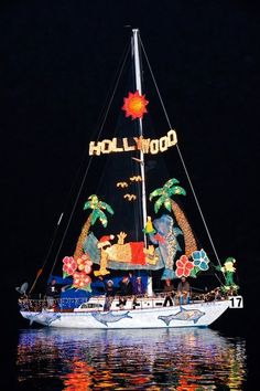 "Join over a million viewers as you watch beautifully decorated boats, yachts, kayaks, and canoes sail along the harbor in the 104th Annual Newport Beach Christmas Boat Parade. Hosted by the Commodores Club of the Newport Beach Chamber of Commerce, celebrate this year with a fun ""Surf, Sand, and Santa"" theme! Visit www.xplorela.com"