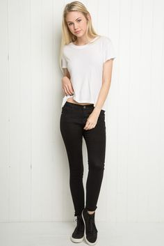 Brandy ♥ Melville | High-Rise Pants - Clothing