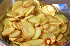 Very crunchy chips, recipe for oven or Airfryer, Light & Yummy Gourmet Recipes, Snack Recipes, Cooking Recipes, Healthy Recipes, Snacks, I Love Food, Good Food, Yummy Food, My Favorite Food