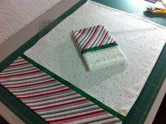 Melcochas blancas navideñas