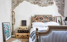 The Airbnbs And Hotels We Each Are Dreaming About Staying At - Emily Henderson Concrete Kitchen, Castle Wall, Tower House, Second Floor, Something To Do, Hotels, Furniture, Vacation, Home Decor