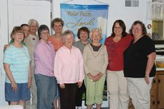This group of smiling women are from Bengal Christian Church in Bengal, Indiana. They tackled The Sacred Echo in a past study and are thrilled to be starting Pursuing God's Love: Stories from the Book of Genesis. Harriet, Kayte, Mary, Lori, Melanie, Lena, Marie, Reba, DeAnne, and Debbie meet together once a month for a time of brunch and Bible study.