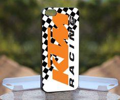 KTM Racing, Print on Hard Cover iPhone 5 Black Case   MonggoDiTumbas - Accessories on ArtFire