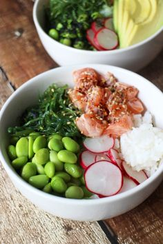 Keep That Cooking Area Clean Pork Recipes For Dinner, Italian Dinner Recipes, Fish Recipes, Asian Recipes, Poke Bol, Healthy Cooking, Healthy Recipes, Healthy Food, Sushi Bowl