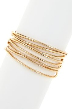 You can never go wrong with a classic bangle set