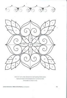 1945 best Embroidery Borders & Corners & Blocks images on