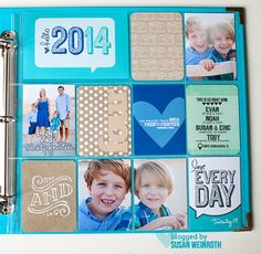 2014 project life cover page - Susan Weinroth