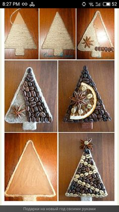 Best Wine Cork Ideas For Home Decorations 83083 Clay Christmas Decorations, Christmas Ornaments To Make, Christmas Mood, Handmade Decorations, Diy And Crafts, Christmas Crafts, Kids Christmas, Alternative Christmas Tree, Animal Crafts For Kids