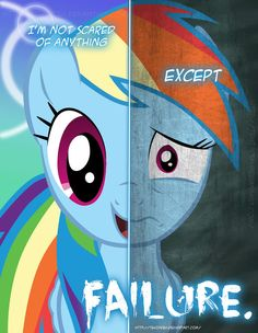 MLP - Two Sides of Rainbow Dash by *TehJadeh on deviantART
