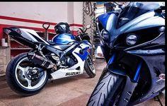 Suzuki GSXR Gixxer 1000 & Yamaha R 1
