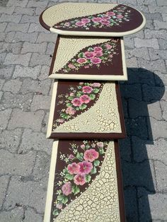 Crafts To Make, Diy Crafts, Vintage Wood, Wood Art, Ideas Para, Wood Crafts, Painted Furniture, Coasters, Shabby Chic