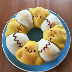 卵とピヨ子のちぎりパン
