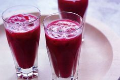 Healthy Juice Recipe Carrot, pickled ginger and beetroot juice