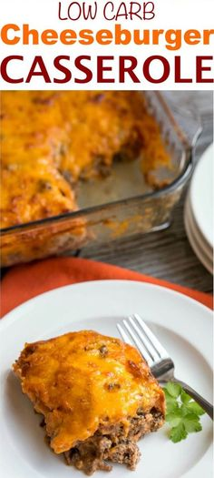 Need a simple ground beef casserole to feed your family or friends? They will love this easy low carb bacon cheeseburger casserole   Source: www.lowcarbyum.com