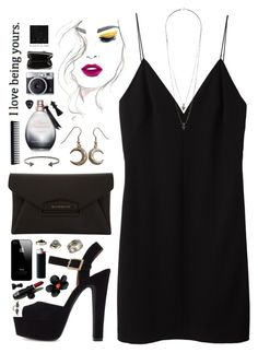 """""""Good For You"""" by skydancer18 ❤ liked on Polyvore featuring T By Alexander Wang, Steve Madden, Wallis, Givenchy, BCBGMAXAZRIA, 7 For All Mankind, Agent Provocateur, GHD, Zadig & Voltaire and Anita Ko"""