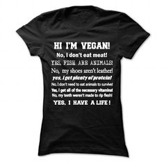 i am vegan - #t'shirt quilts #winter sweater. GET => https://www.sunfrog.com/Funny/i-am-vegan-87917690-Ladies.html?68278