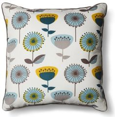 Room Essentials® Multi Floral Pillow Modern Home Decor
