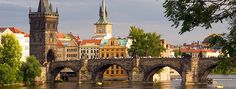 Czech Charles Bridge, Czech Republic, Dream Vacations, Travel Ideas, Notre Dame, Places To Travel, Places Ive Been, Stuff To Do, Beautiful Places