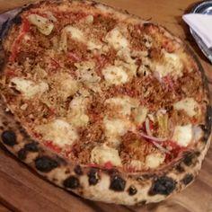 "@shaunedmonstone: ""House made spicy sausage chard redonion preserved artichoke Ontario mozzarella oragano #woodfired #farmtofork #truecooks #foodporn #instafood #pizza #sausage #FeastOn #loveontfood @grandviewfarms #ontariopork #pizzaspecial #latergram #knowyourfarmer #cheflife #ouichef #chefstalk #thisiswhyiamfat"""