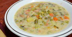 Il minestrone è un classico della cucina Italiana ed è il piatto ideale se volete un pasto leggero (la versione proposta è da soli 3 bloc...