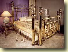 Whoa Brass Bed