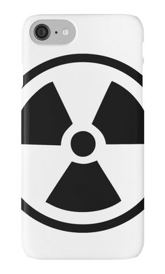 Radioactive Symbol by XOOXOO  iPhone Cases & Skins  PHONE CASE FOR IPHONE 4/4S/5/5C/5S/6/6 PLUS/ 7/7 PLUS