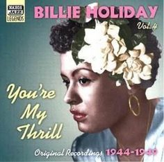 Billie Holiday & Her Gardenia Flower