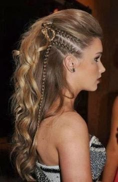 When a gal's gotta look her best, only the best fancy hairstyles will do! Check out these fancy hairstyles that'll make you look like a million bucks! Fancy Hairstyles, Braided Hairstyles, Wedding Hairstyles, Braided Mohawk, Hairstyles 2016, Amazing Hairstyles, Homecoming Hairstyles, Pirate Hairstyles, Faux Mohawk