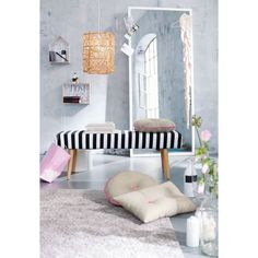 bench for entry House Doctor, Zara Home, Home And Living, Living Room, Cosy Corner, Decoration, Modern, Toddler Bed, Entryway