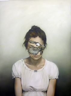 'Oil Painting of Anonymous Woman' by Amy Judd. Art Du Monde, Surrealism Painting, Surreal Art, Figure Painting, Painting Inspiration, Contemporary Art, Art Photography, Illustration Art, Portraits