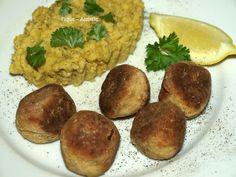 Boulettes de Tofu aux épices et lentilles corail (Recettes au Companion ou pas ...)