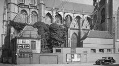 1935 - Breda. Kerkplein.