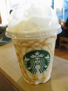 5. VANILLA BEAN FRAPPUCCINO with CARAMEL or CHOCOLATE - 13 Best Starbucks Drinks to Enjoy ... → Food