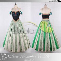 EE0308AA Frozen Anna Cosplay Costume | eBay - $180 total