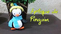 DIY- APLIQUE DE PINGUIM - #6 - ESPECIAL10.000 INSCRITOS/ ELISANGELA MOTTA