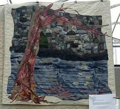 Creations - Quilts, Art, Whatever by Nina-Marie Sayre: My First Art Quilt, QBL 2001