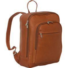 Piel Front Pocket Computer Backpack - eBags.com