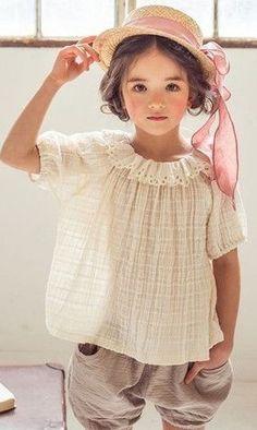 Micca April linen blouse
