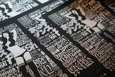 Japanese letterpress