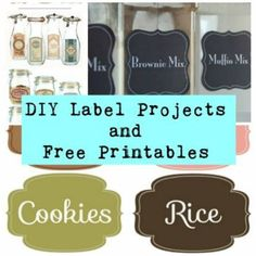 Organizing Your Life and Space With Labels – Including *FREE* Printables