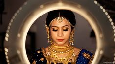 """Photo from album """"Our Brides"""" posted by photographer Vinu Paravoor Photography Bridal Portrait Poses, Bridal Poses, Baby Portraits, Bridal Shoot, Ring Light Photography, Bride Photography, Indian Wedding Photography, Indian Bridal Makeup, Bridal Beauty"""