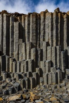 Basalt columns in Iceland. Travelling to Iceland should be on your list! Places To Travel, Places To See, Landscape Photography, Nature Photography, Scenic Photography, Aerial Photography, Night Photography, Landscape Photos, Photography Tips