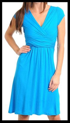 (Katie) Turquoise Dress by CasaDeDress on Etsy, $17.00
