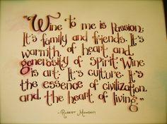 Illustrated Wine Quote