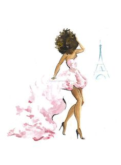 Pink in Paris by beginningkisses on Etsy