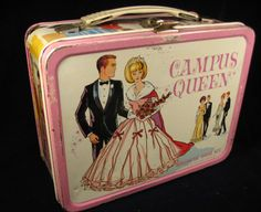 Barbie and Ken Campus Queen Magnetic Game Kit Lunch Box Retro Lunch Boxes, Lunch Box Thermos, Tin Lunch Boxes, Metal Lunch Box, School Lunch Box, School Lunches, School Days, Whats For Lunch, Good Ole