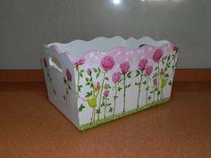 caja porta ajuar pañalera bebes