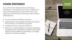 Vision & Mission Statements PowerPoint Template