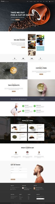 Buy Leo Frozen - eCommerce PSD Template by leo-theme on ThemeForest. DETAIL Frozen eCommerce PSD Template is an awesome design idea for your online shop. Ppt Template, Website Template, Templates, Web Layout, Layout Design, Darjeeling Tea, Nice Website, News Website Design, Ecommerce Web Design