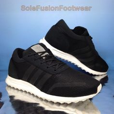 69c96b9e5a2 adidas Originals mens Los Angeles Trainers Black sz 10 LA Sneaker US 10.5  44 2